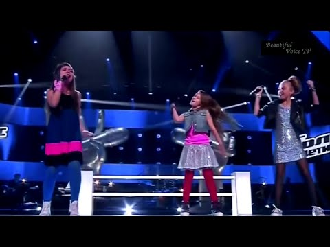 Diana/Xenia/Sofya.'Wrecking ball'.The Voice Kids Russia.