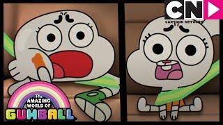 Gumball | Racing To School! | The Bumpkin | Cartoon Network