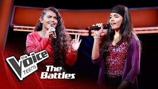 The Battles : Waruni Tharushika V Hashini Nethmika | Mal Sarata Prema Loke |The Voice Teen Sri Lanka