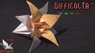 Dude's Daily Origami - Fiore Di Lillà (tutorial In Italiano)