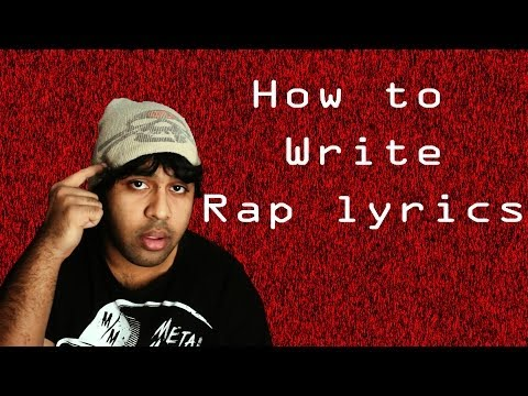 Tutorial - How to Write Rap Lyrics - Breathing, Rhymes, Literary Devices, and Song Structure