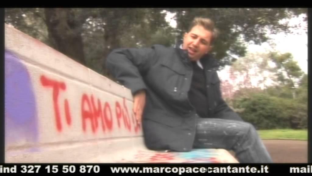Marco Pace Un'ora sola ti vorrei - YouTube