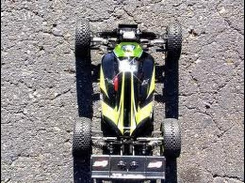Losi Mini 8ight on 2s LiPo Testing: On Road