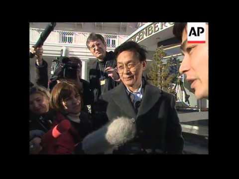 SWITZERLAND: DAVOS: WORLD ECONOMIC SUMMIT