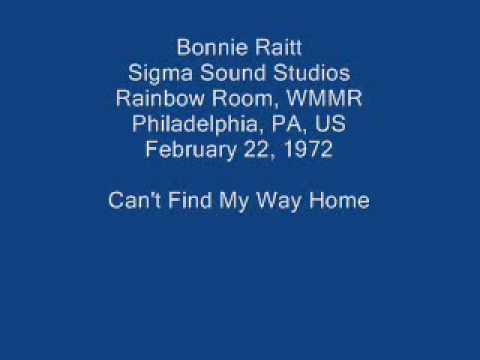 Bonnie Raitt 12 - Can't Find My Way Home (orig. by Steve Winwood)