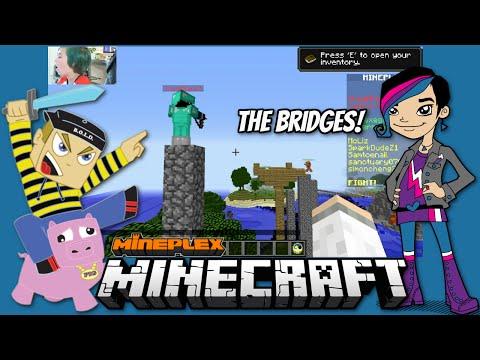 Minecraft - The Bridges with Gamer Chad Alan on the Mineplex!!!