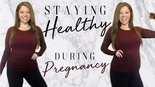Staying Healthy + In Shape During Pregnancy | What I Do For Cardio