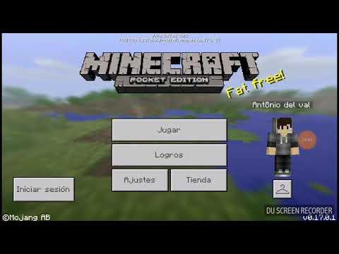 Minecraft pe: Parte 1 cómo jugar en el servidor v0.17.0.1