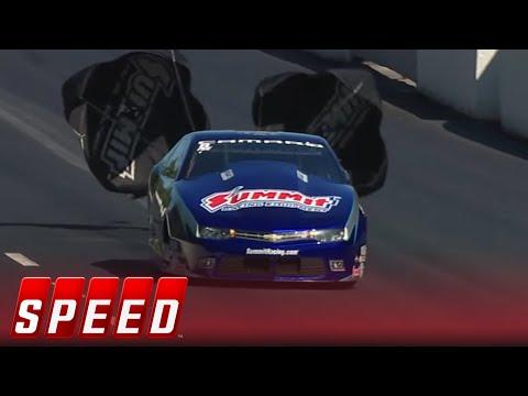 Greg Anderson vs. Jason Line - Atlanta Pro Stock Final - 2016 NHRA Drag Racing Series