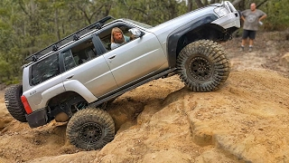 Here is a 4WD trip with a variety of vehicles