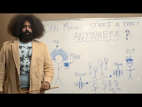 Social Music Experiment #2 - Can Music Start a Party Anywhere?