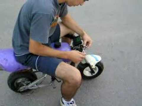 MINIBIKE TURBINE ENGINE