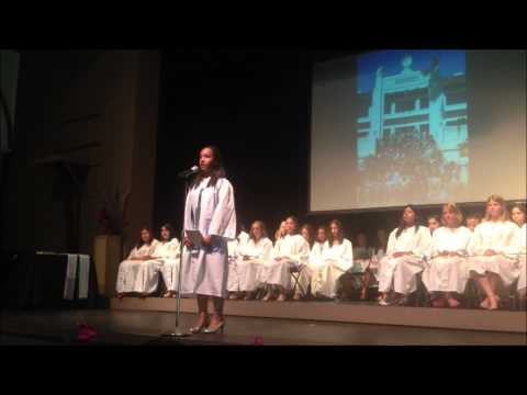 JUNE 7TH 2013 ISIS FAITH FIELDS GRATUATES FROM JULIA MORGAN SCHOOL FOR GIRLS