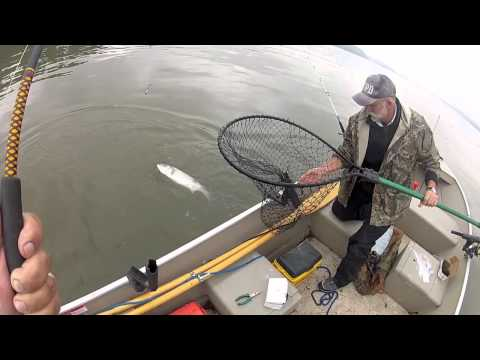 Hudson River Striper Fishing 5-16-2012
