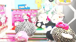3 rd winnings....Got [Panda Hello Kitty - Leopard-pattern Big Plushy A]!!