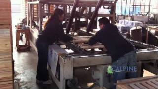 Nailing Pallets Machine  by Calpine Fresno