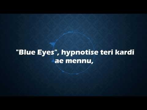 ☆ Yo Yo Honey Singh - Blue Eyes | Lyrics + Free Mp3 Download | 1080p Hd video