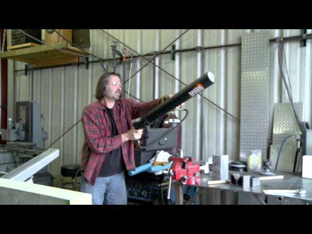 BAKER Drivetrain T-Shirt Cannon Test Fire