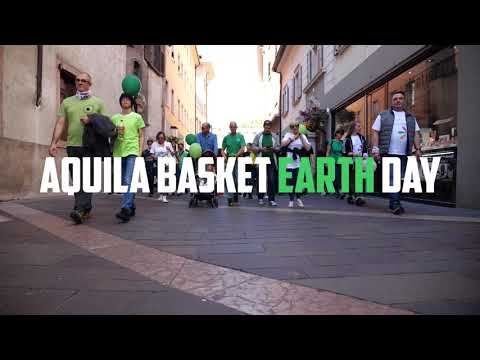 Il video racconto dell'Aquila Basket Earth Day!