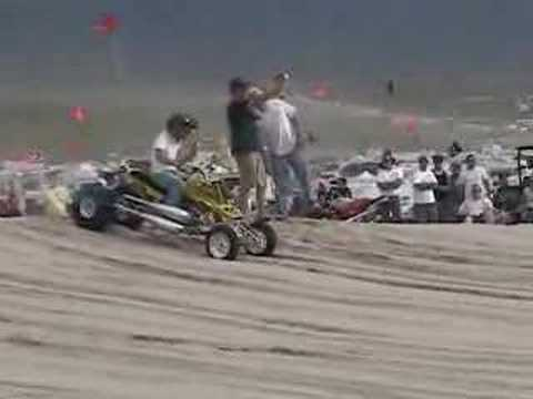 Quad drag racing Video