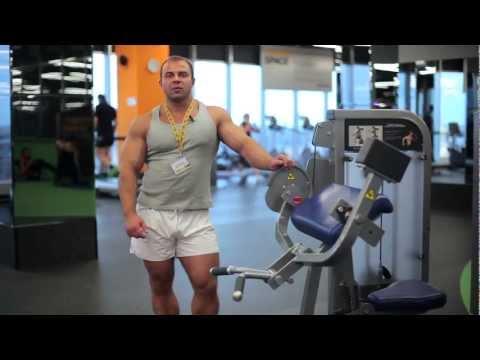 Уроки бодибилдинга - видео