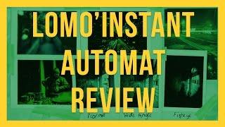 Lomography Lomo'Instant Automat Review - Fresh Meat
