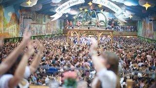Hacker Festzelt Oktoberfest Wiesn Finale 2014 Sternwerfer