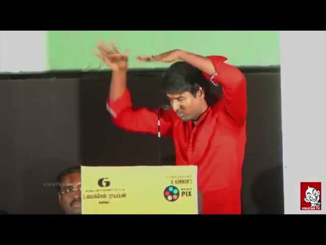 Comedian Soori Emotional Speech - Cinema Vikatan