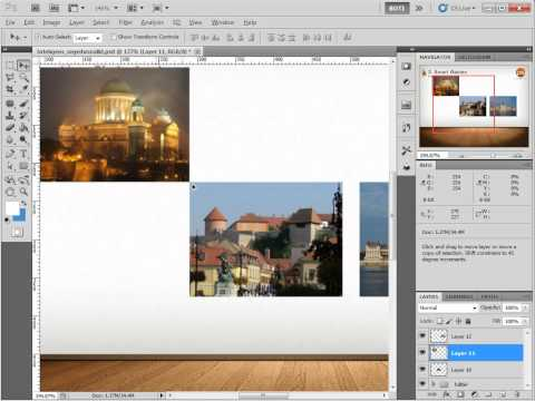Photoshop Smart Guides - Intelligens segédvonalak használata photoshopba