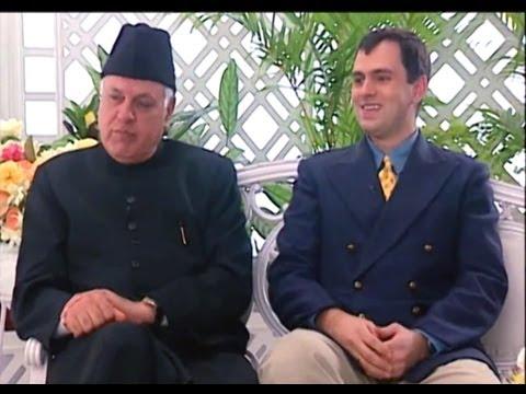 Rendezvous with Simi Garewal - Dr Farooq Abdullah & Omar Abdullah (1999)