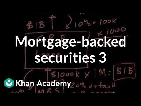 Mortgage-backed securities III   Finance & Capital Markets   Khan Academy