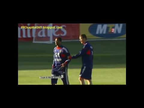 Evra Losses Temper - Insult & Clash With France Coach Duverne Domenech [HD]