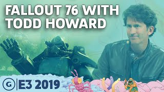 Bethesda's Todd Howard On The Mistakes And Future Of Fallout 76 | E3 2019