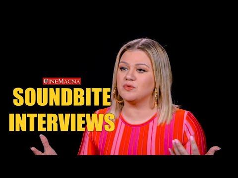 UglyDolls Movie Interviews Behind The Scenes - Kelly Clarkson (2019)