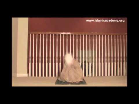 How To Offer Namaz {ladies salat 2 rakat front} video