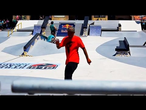 some best tricks street league skateboarding big