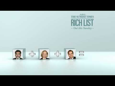 The Sunday Times Rich List 2010 - Dragons