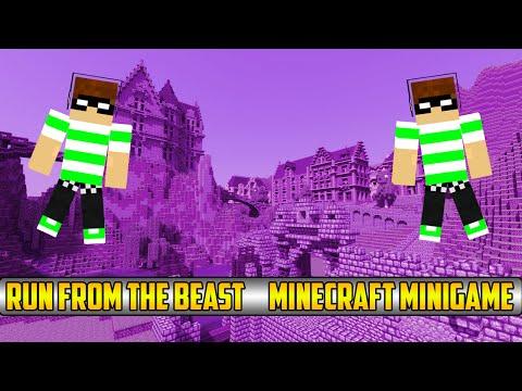 Run from the Beast!! | Minecraft minigame on SkyDoesMinecraft's server