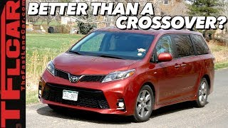 Why Aren't You Guys Buying This Instead of a Crossover? 2019 Toyota Sienna Review