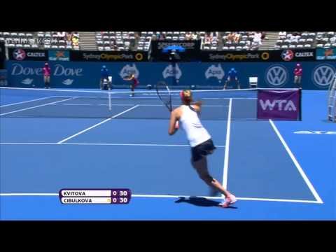 Kvitova vs Cibulkova ● R1 Apia International Sydney 2013 ► FULL MATCH HD See Description