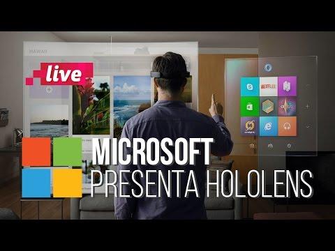 Microsoft presenta HoloLens y nos recuerda que tienen buenos ingenieros en la empresa.