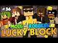 THE LUCKY TROLLS - Minecraft Modded Cops and Robbers (Lucky Block Mod) w/ BajanCanadian ASFJerome