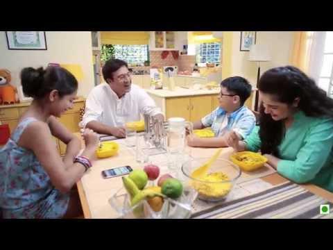 Cornflakes Crumble Mango Custurd(Kellogg's Waale Guptaji Ki Family ka