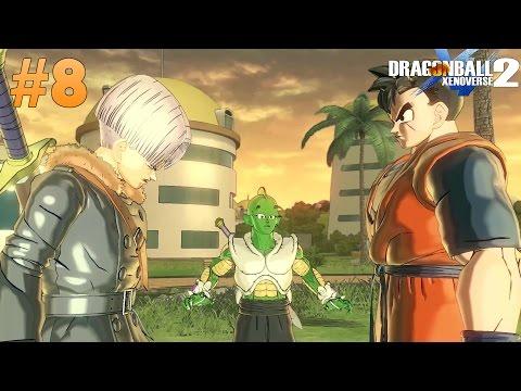 Dragon Ball Xenoverse 2 : Gameplay Walkthrough Future Reunion Trunks & Gohan (Namekian)[Part 8]