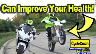 Top 3 Ways Motorcycles Can Improve Your Health! | MotoVlog