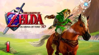BACK TO THE PAST - Let's Play - The Legend of Zelda: Ocarina of Time 3D - 1 - Walkthrough