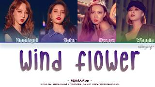 MAMAMOO (마마무) - WIND FLOWER (Color Coded Lyrics Eng/Rom/Han/가사)