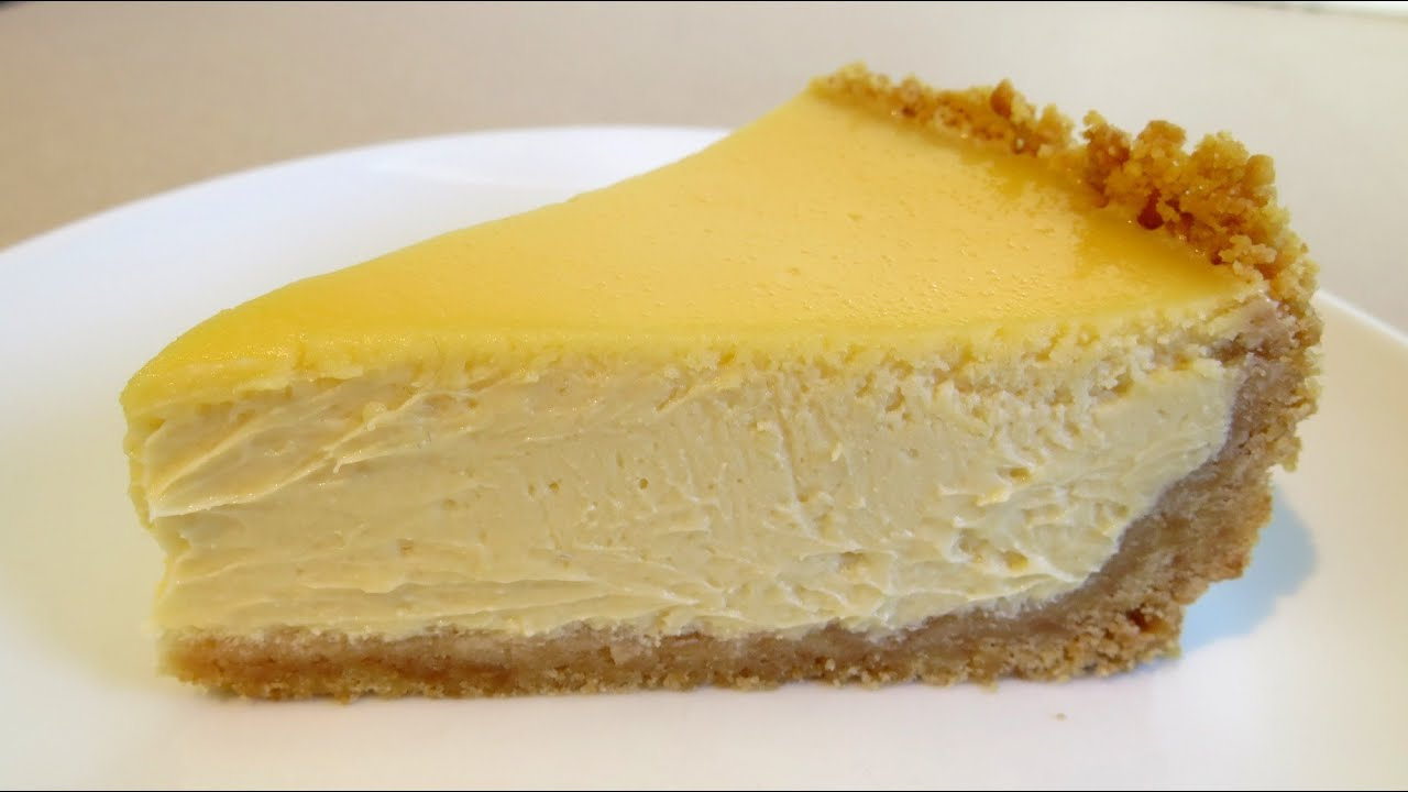 NEW YORK CHEESECAKE RECIPE - YouTube