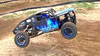 RC ADVENTURES - WiLD KRAKEN VEKTA 5's & EPiC RACiNG = GREAT CRASHES & RECOVERiES!