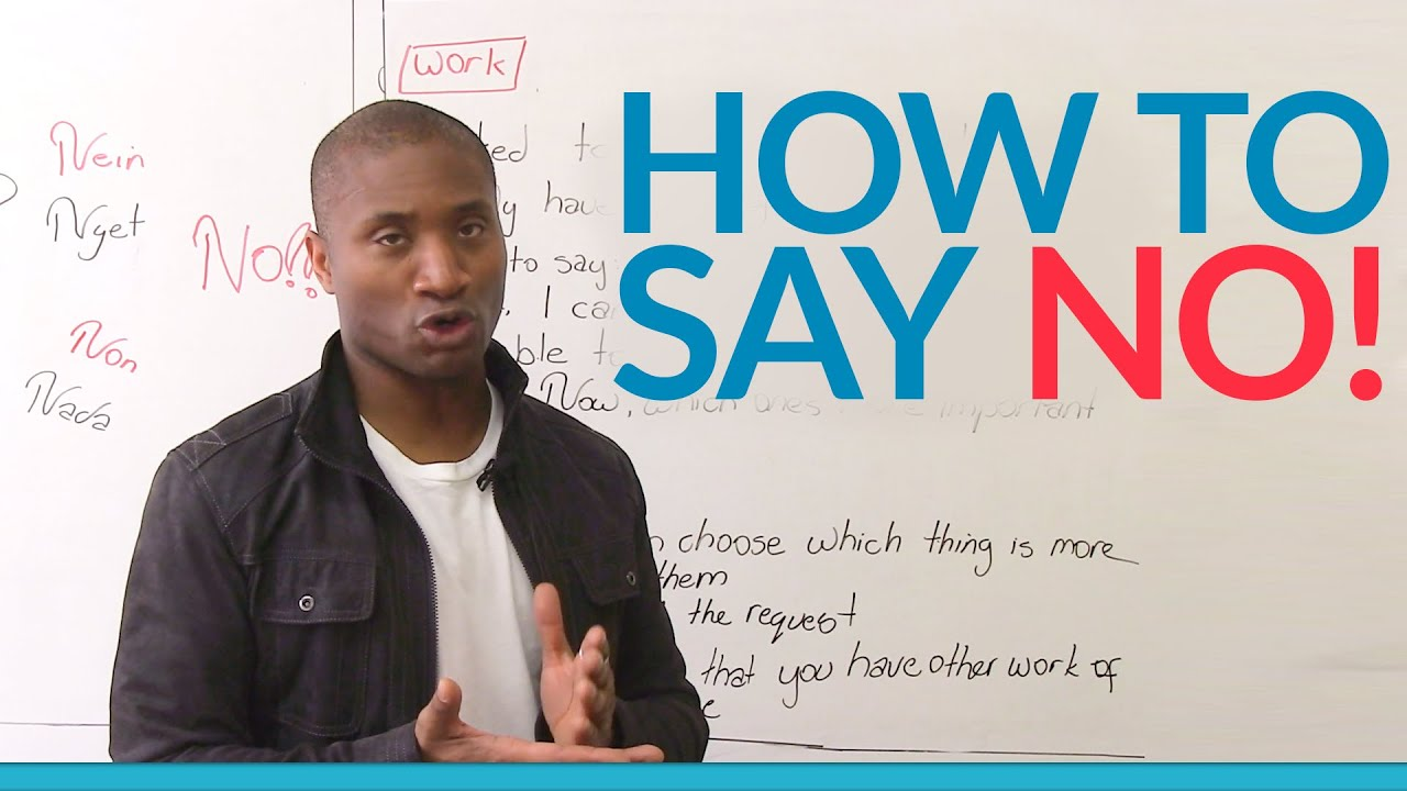 how to say no communication skills that work